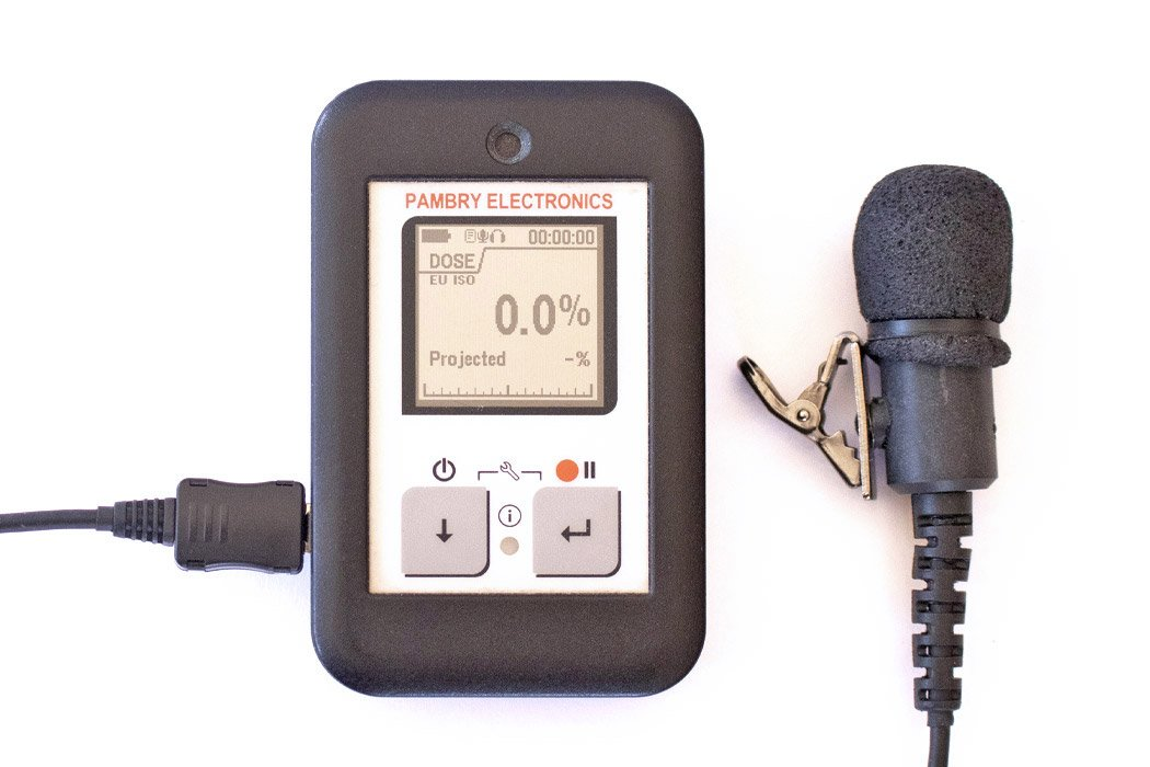 The Listen Ear™ - Personal Noise Dose Meter with optional external microphone