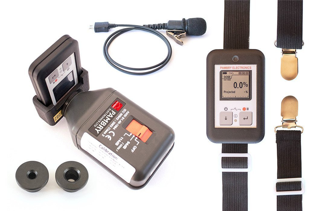 The Listen Ear™ - Personal Noise Dose Meter Accessories