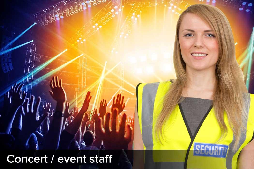 Concert / Event Staff